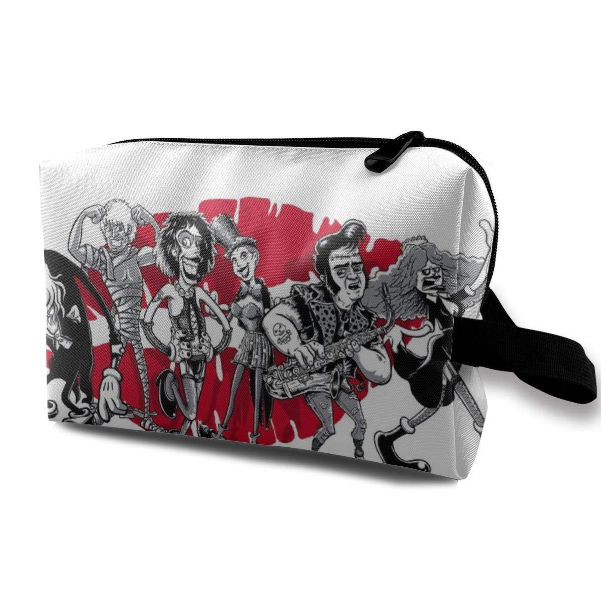 Rocky Horror Picture Show Gang of Six Backpack Daypack Rucksack Laptop Shoulder Bag with USB Charging Port