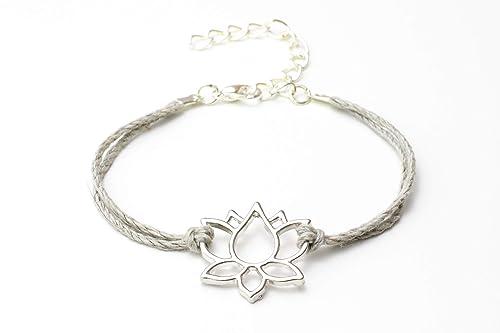 bracelet femme fleur de lotus