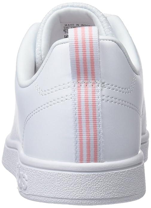 adidas Damen VS Advantage Clean Fitnessschuhe, Weiß (Ftwbla/Corneb 000), 37  1/3 EU