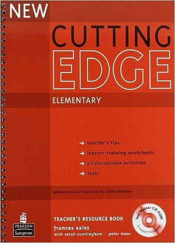 Workbook cutting worksheets : New Cutting Edge: Elementary- Teacher's Resource Book: Sarah ...