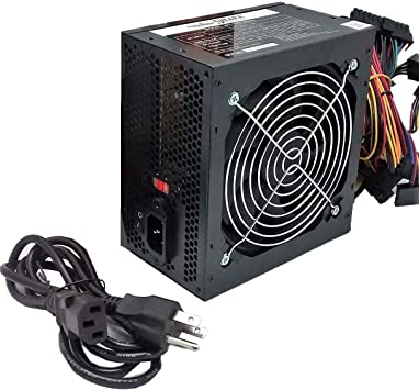 New Retail Black SHARK® 1000W ATX 12V 120mm Fan PSU PCI-E Gaming PC Power Supply