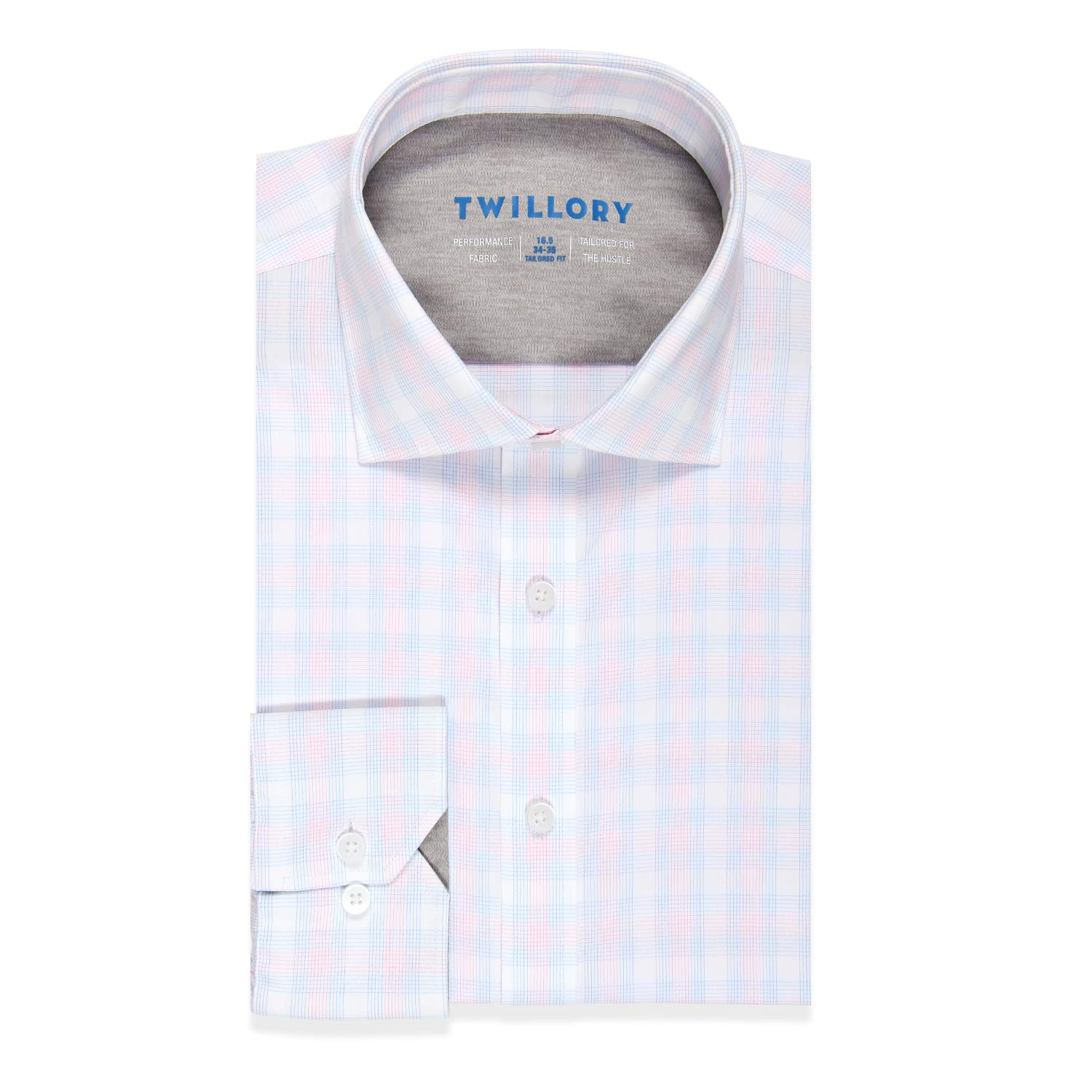 c5f50f698b8 Amazon.com  Twillory Performance Traditional Fit Button Down Dress Shirt  for Men  Clothing