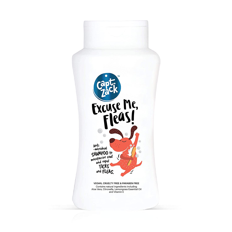 Captain Zack Natural Moisturizing Shampoo, 50 ml