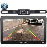 Xgody 704BT 7 Inch 8GB TFT LCD Capacitive Touchscreen SAT NAV Car GPS Navigation Free Lifetime Map Updates With Sunshade Wireless Backup Camera
