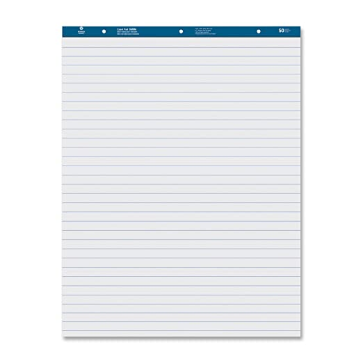 38590 Business Source Paper Pads Easel Pad 2//CT