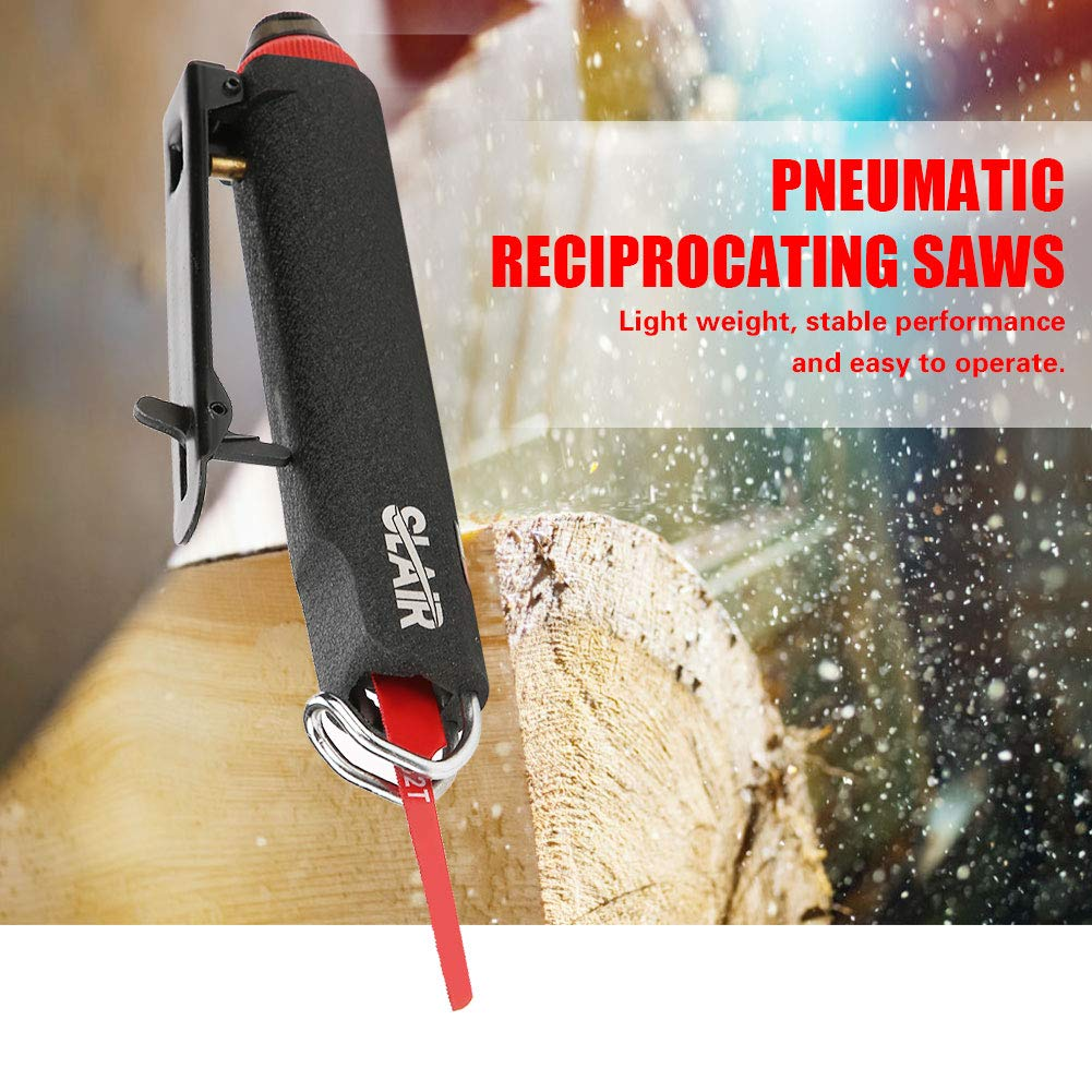 1//4 Mini Pneumatic Reciprocating Saws Alloy Saws Cutting Tool Stable Heavy Duty for Cutting Automobile Hardware