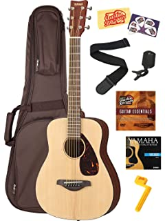 Yamaha JR2 3/4-Size Acoustic Guitar Bundle with Gig Bag, Clip-
