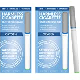 Natural Quit Smoking Aid | Stop Smoking Remedy To Help Quit & Reduce Cravings | Therapeutic Quit Smoking Solution | Easy Way To Quit (Oxygen, 2 Pack)