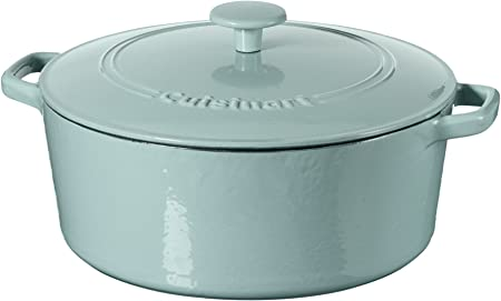 Amazon.com: Cuisinart Cazuela de hierro fundido, color azul ...