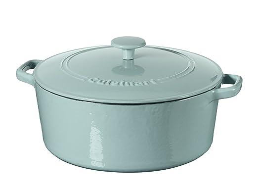 金盒特价!Cuisinart珐琅铸铁锅低至3折!
