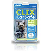 Company of Animals Clix Car Safe Harness for Dogs, XS, Black