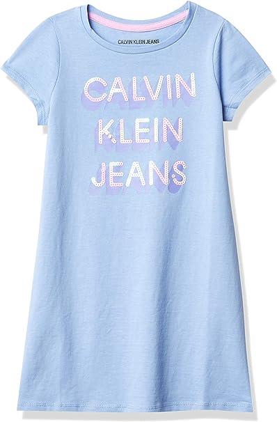 Calvin Klein Girls' Tee Shirt Dress