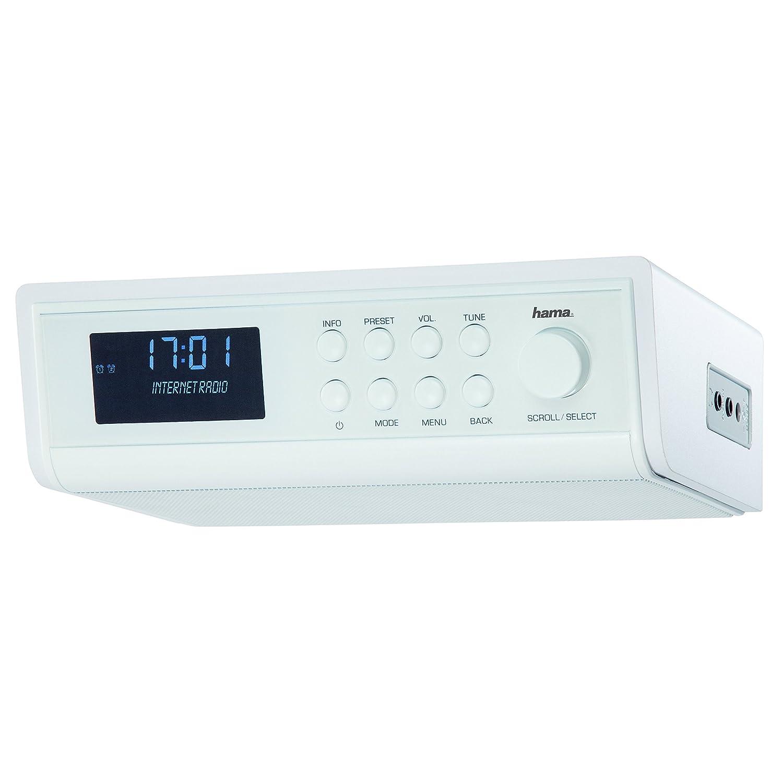 Hama IR320 Internetradio (ideal für Küche und Werkstatt, als ...