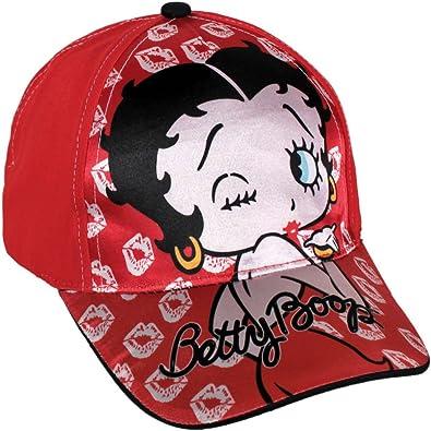 Betty Boop 2200000201 - Gorra para niños, Talla única: Amazon.es ...