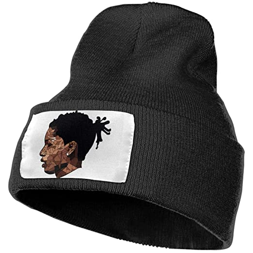 b388cada000ef Image Unavailable. Image not available for. Color  Enghuaquj Jonnert ASAP  Rocky Knitted Hat Cap Beanie Black