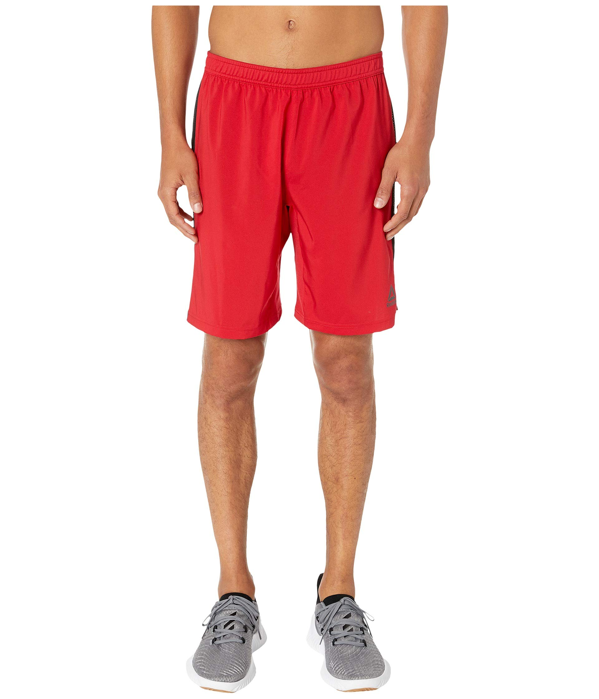 Reebok Perforated Woven Shorts, XX-Large, Excred by Reebok
