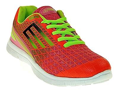 Art 421 Neon Sneaker Turnschuhe Schuhe Sportschuhe Neu Damen
