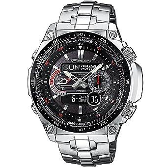 Casio Reloj Analógico-Digital para Hombre de Cuarzo con Correa en Acero Inoxidable CRA006G221G: Amazon.es: Relojes
