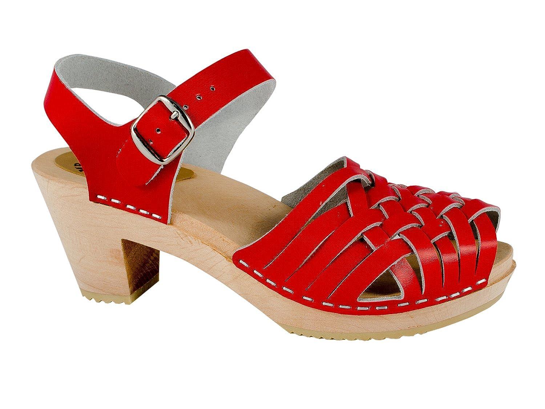 Sandalia tacón rojo 41 EU En línea Obtenga la mejor oferta barata de descuento más grande