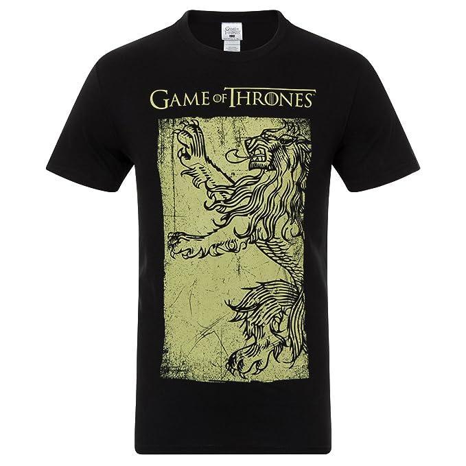 Juego de tronos - Camiseta oficial para hombre - Lannister / Stark / Targaryen / Jon