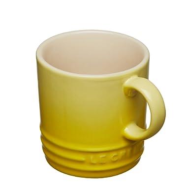 Le Creuset Stoneware Petite Espresso Mug, 3.5-Ounce, Soleil