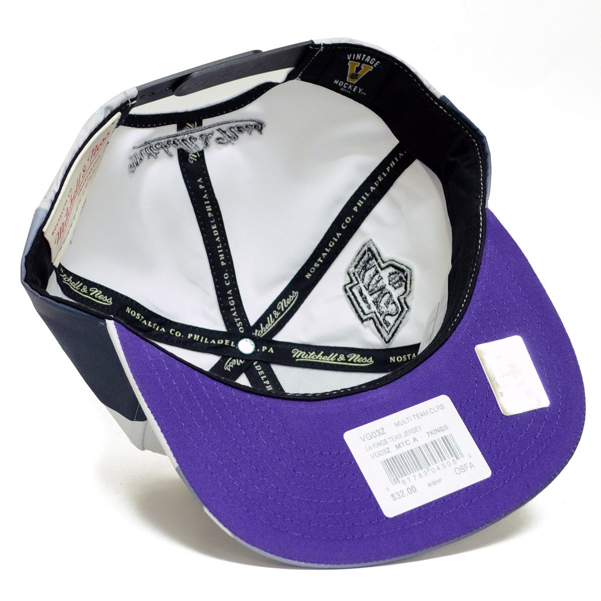 huge selection of 70a21 9775d Amazon.com   Mitchell   Ness NHL Team Vintage 3rd Jersey Snapback Hat (Los  Angeles Kings)   Sports   Outdoors