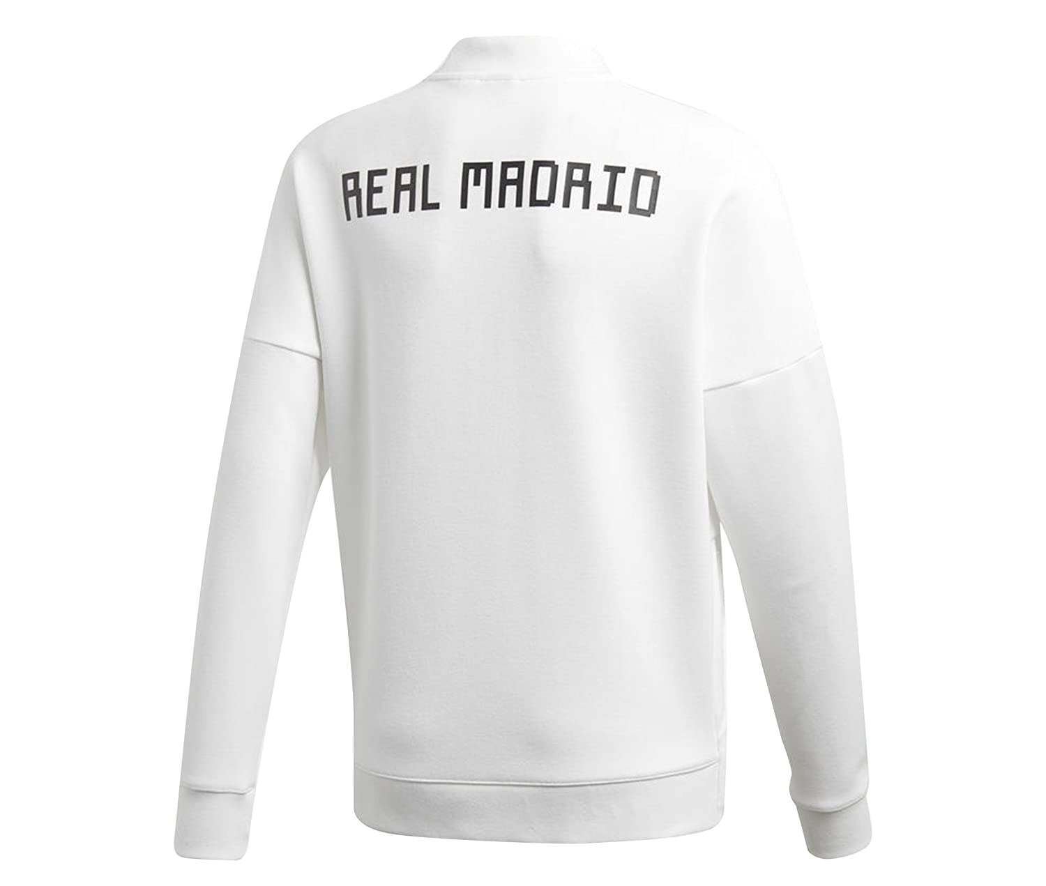 adidas Chaqueta Real Madrid ZNE KY 2018-2019 Niño Core white-Black  Amazon 80312a87bf859