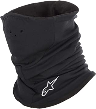 Black, One Size 4758514-10 ALPINESTARS Tech Neck Warmer Baselayer