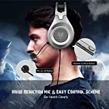 Gaming Headset, (Upgrade Version) NUBWO Wired