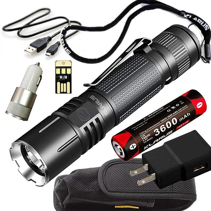 klarus 360X1 Rechargeable 360 Degree Omni-Directional Dual Switch 1800 Lumen