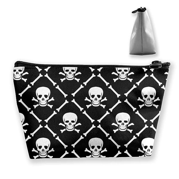 7631d3957b2c Amazon.com: Wodehous Adonis Skull And Crossbones Cosmetic Bags ...
