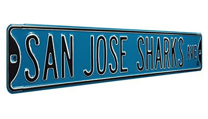 Amazon Com Authentic Street Signs 28122 Nhl San Jose Sharks Ave