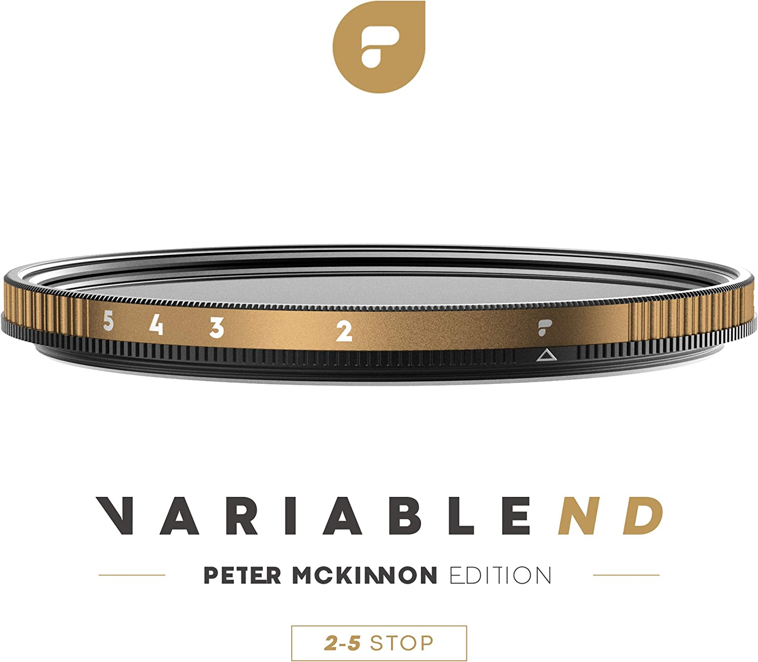 PolarPro 67mm Variable ND Filter (2 to 5 Stop) - Peter McKinnon Edition