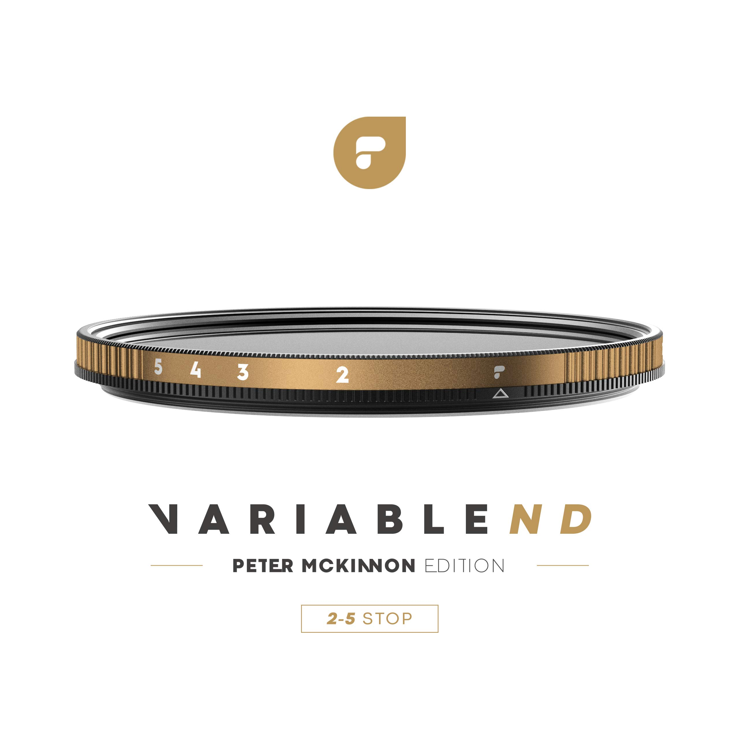 PolarPro 82mm Variable ND Filter (2 to 5 Stop) - Peter McKinnon Edition by PolarPro