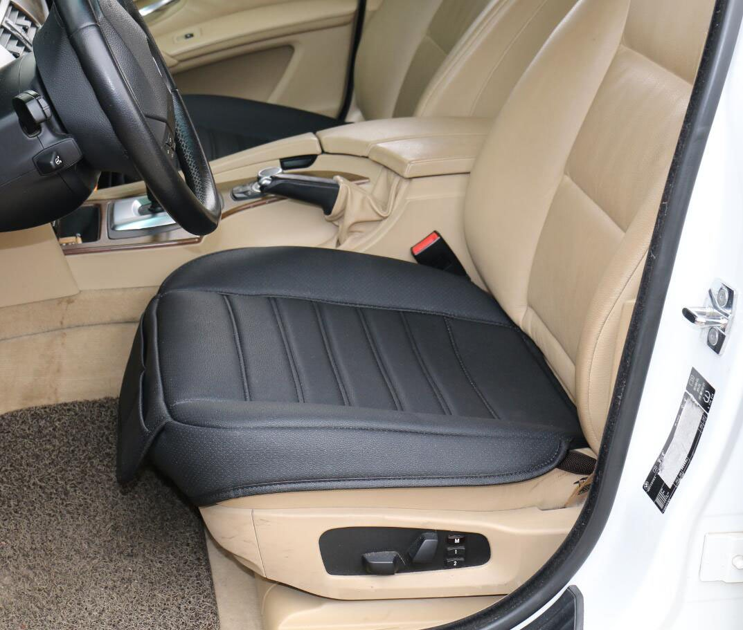 Amazon.com: EDEALYN 1 seat Faux Leather Soft Car Seat Cover Pad Mat