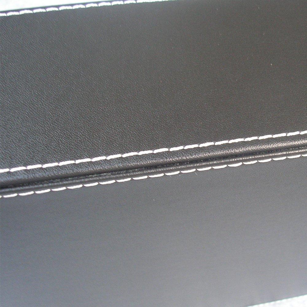 Braun, 1 Schubladen LILAN A4 Leder Briefablage