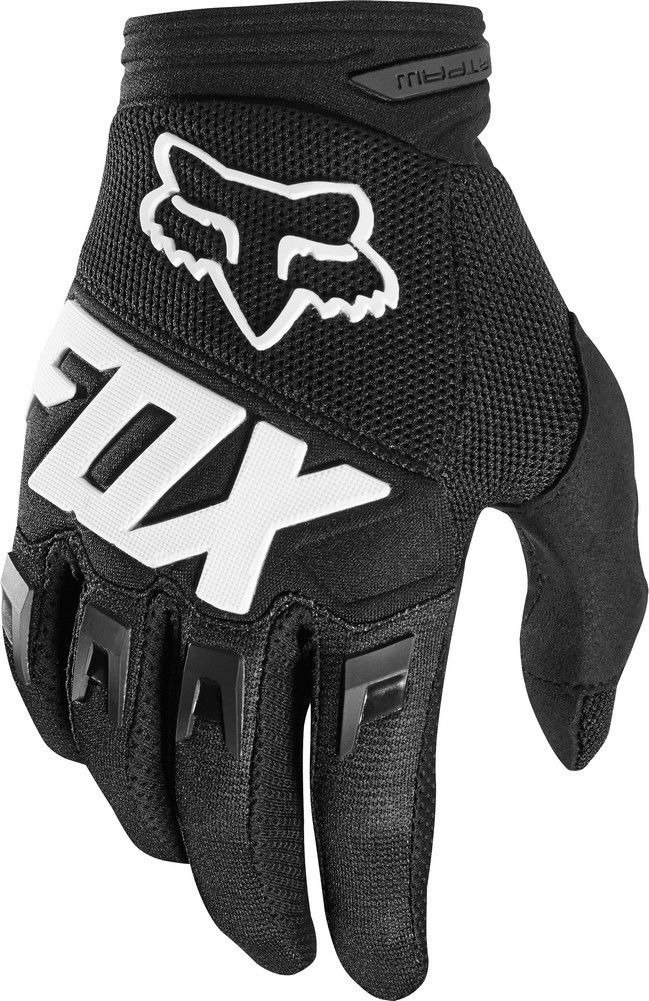 2018 Fox Racing Youth Dirtpaw Race Gloves-Black-YM by Fox Racing