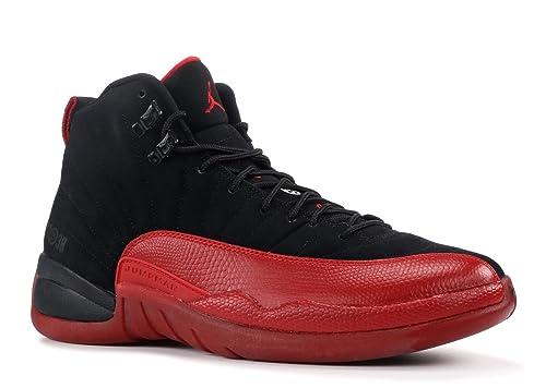the latest 0d9b2 124e1 Amazon.com   Jordan Nike Air 12 Retro XII Flu Game Mens Basketball Shoes  130690-065   Shoes