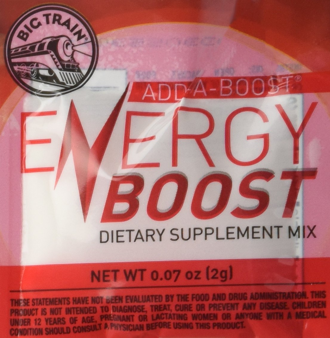 Big Train Add-a-Boost Energy Dietary Supplement, 0.07 Ounce (Pack of 300)
