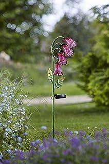 4 X Smart Jardin Bluebell Fleur Verre Bleu Solaire Jeu Lumière de jardin DEL 1012534