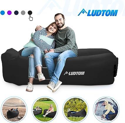 Amazon.com: Ludtom - Hamaca inflable para sofá de aire ...