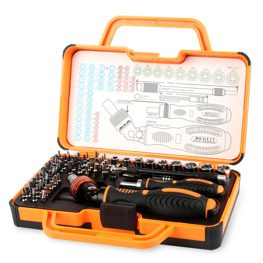 69in1 Multi Function Hand Tools Repair Kit Screwdriver Set for repair iPhone iPad Household Appliances Cell Phone Hand Tools Set B075GSNTX4