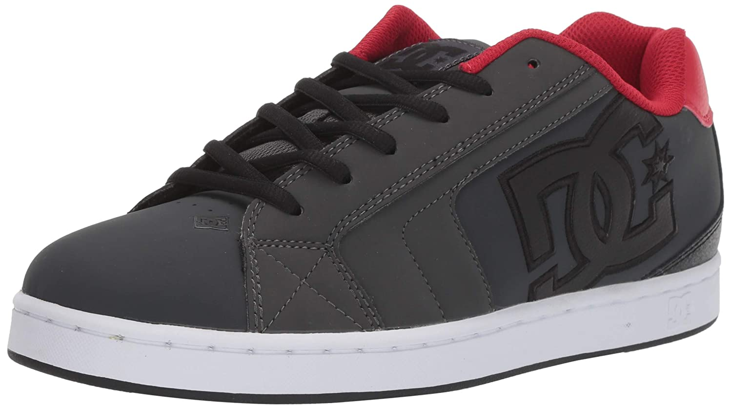 gris Dark rouge DC chaussures Net chaussures, Chaussures basses homme 45 EU
