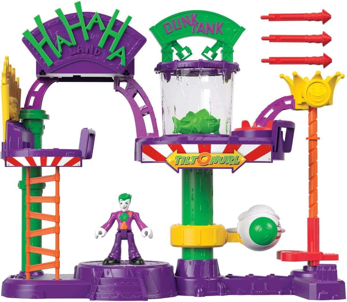 Fisher Price DC Super Friends Imaginext Joker Laff Factory