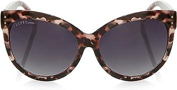 657b7379f3 LIPSY Women Tortoise Shell Cat Eye Sunglasses