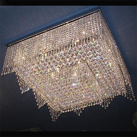 Mejor lámpara de araña de estilo chino de lujo de acero ...
