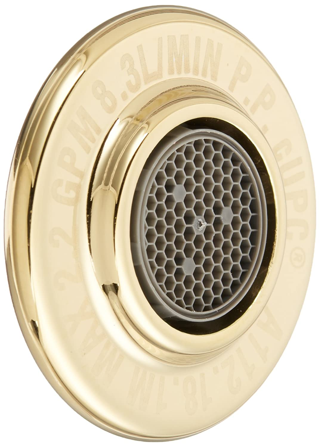 Pfister 941146V Male Aerator Assembly, Polished Brass
