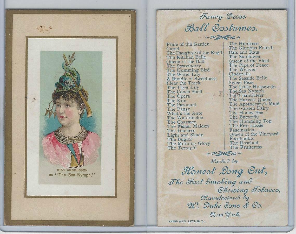 N107 Duke Fancy Dress Ball Costumes 1889 The Sea Nymph At