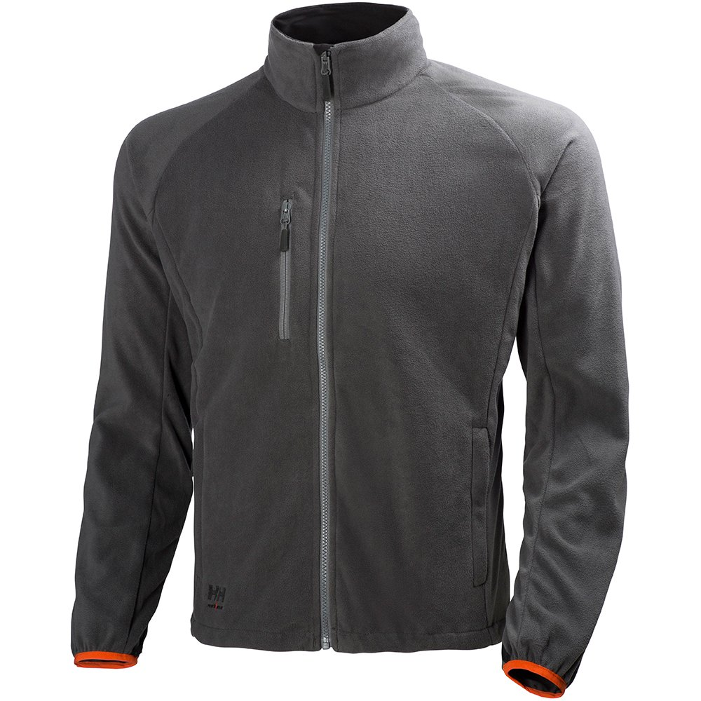 Grigio 72085 Helly Hansen Workwear Giacca in pile Eagle Lake Jacket giacca da lavoro con Helly Tech