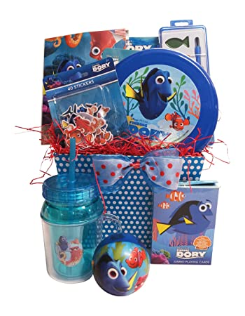 Finding dory christmas gift baskets for kids with stickers and finding dory christmas gift baskets for kids with stickers and jumbo playing cards perfect christmas gift negle Gallery